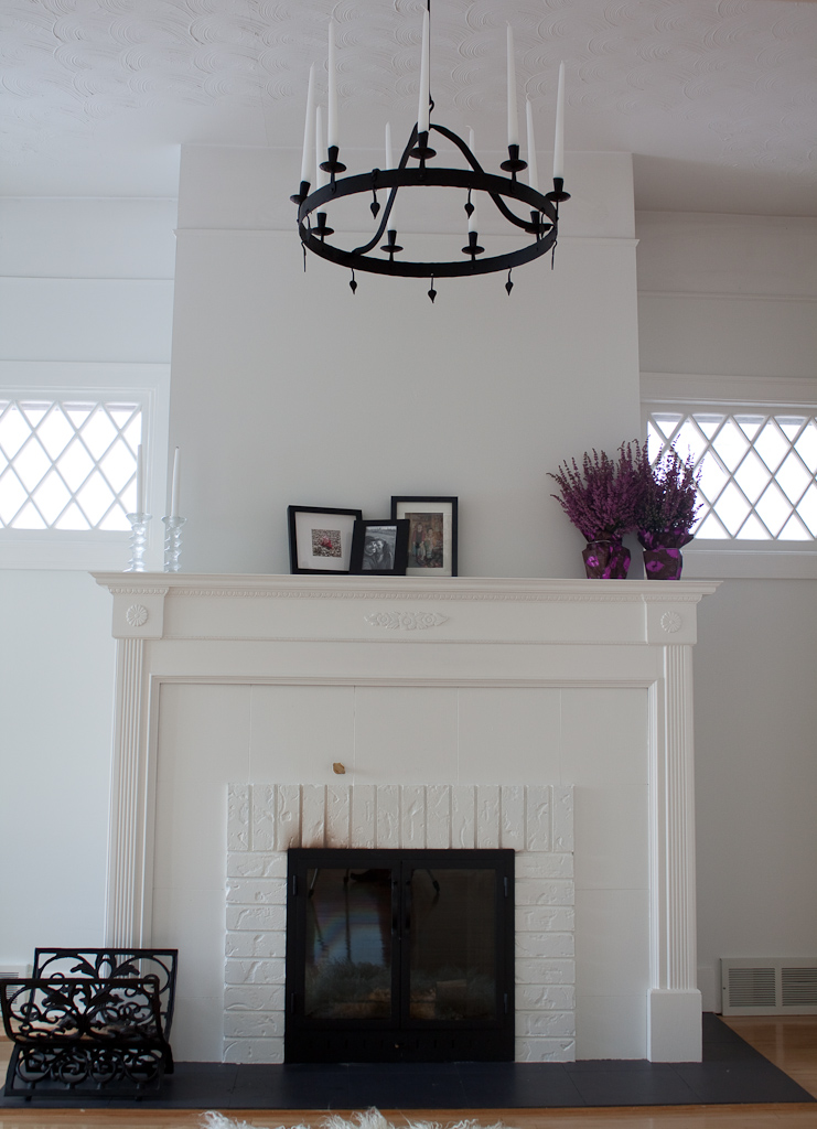 Fireplaces… white or not |